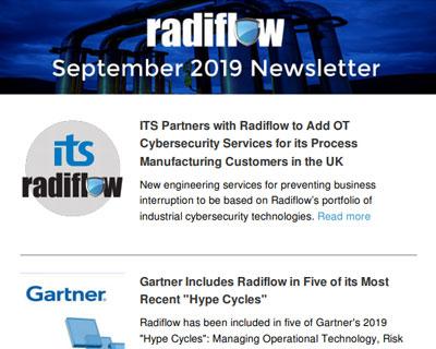 Radiflow Newsletter, Sept 2019