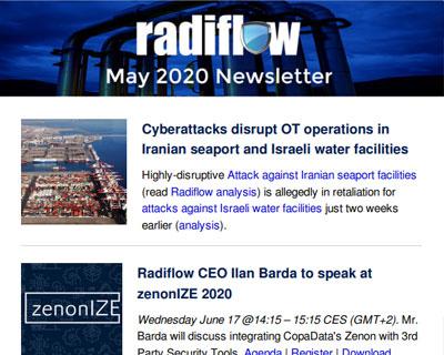 Radiflow Newsletter, May 2020