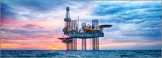 Securing an Offshore Oil-Drilling Rig in the North Sea