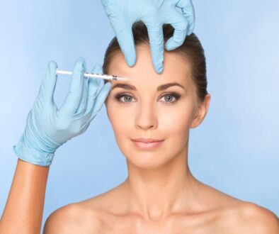 An example of Dysport and Botox injection