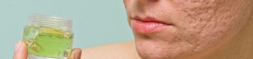 An example of pore minimizing serum.