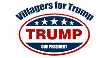 Villagers For Trump Club Logo