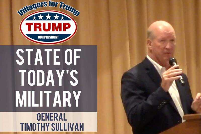 Watch the October 7th Rally with Brig. General Tim Sullivan AND our Previous Rallies