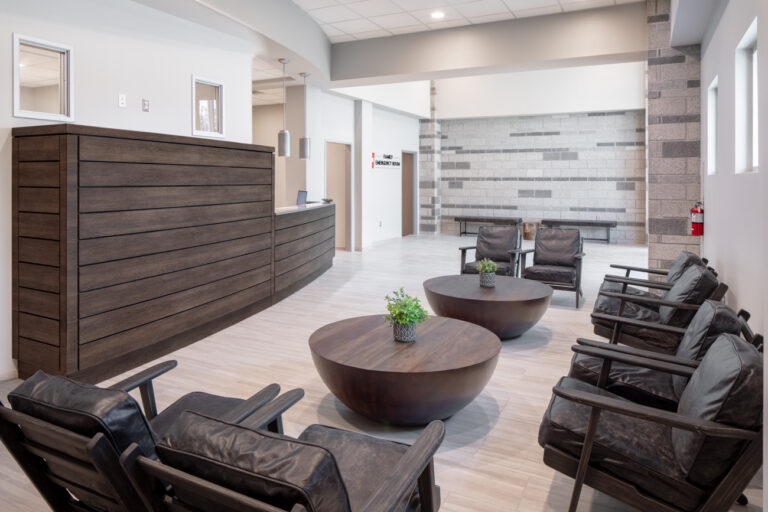 Comfortably Designed Waiting areas