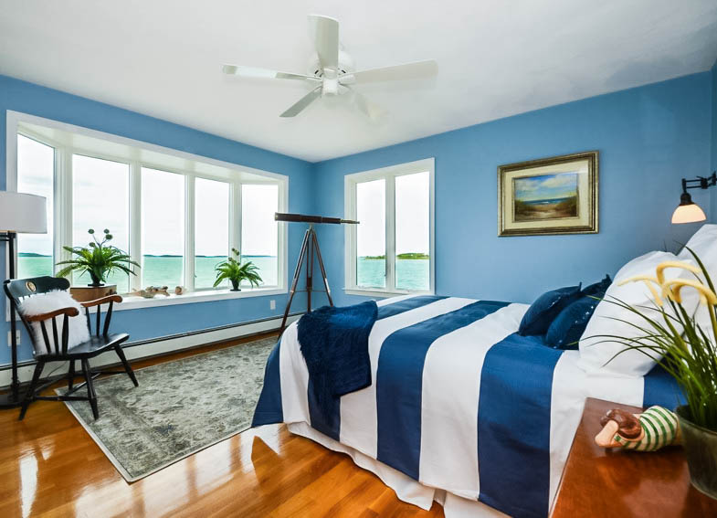Staged and Professionally Photographed Primary Bedroom