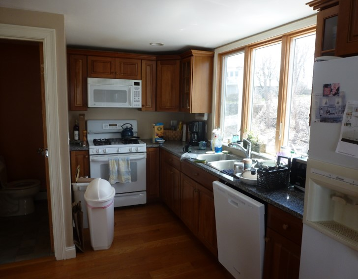 A Before Image of a Kitchen