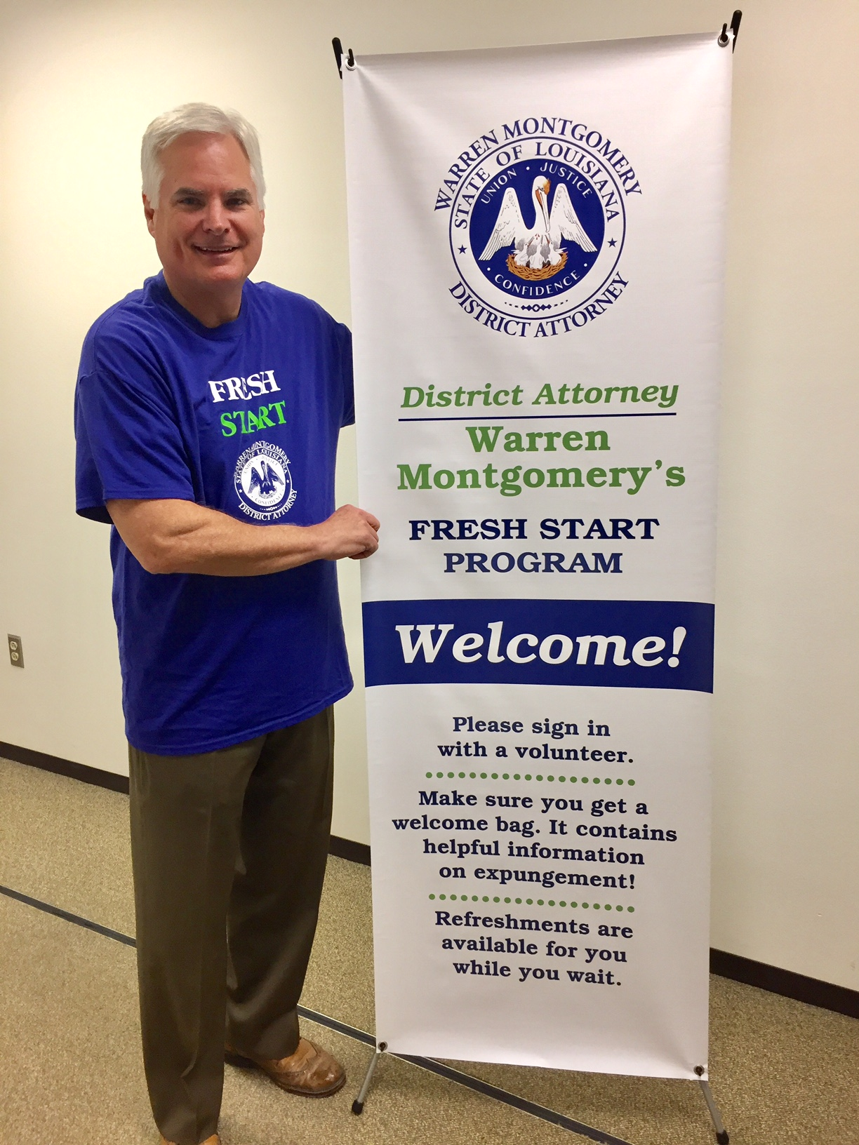 D.A. Warren Montgomery Helps Nearly 100 People Get Fresh Start with Expungements