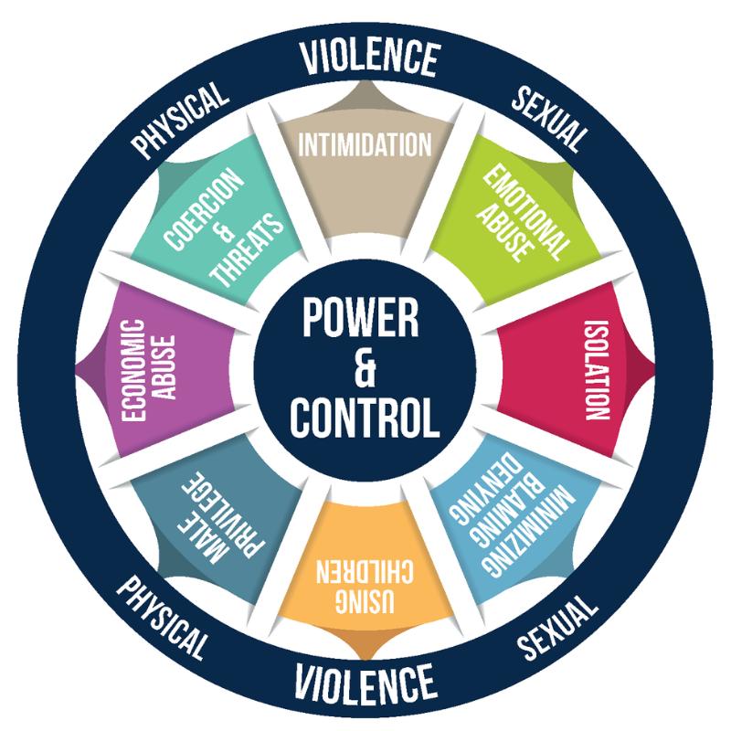 domestic violence power wheel