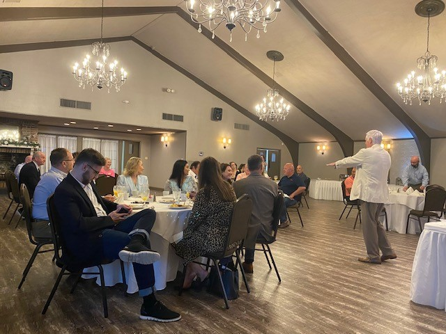 D.A. Montgomery Meets with Slidell Business Group
