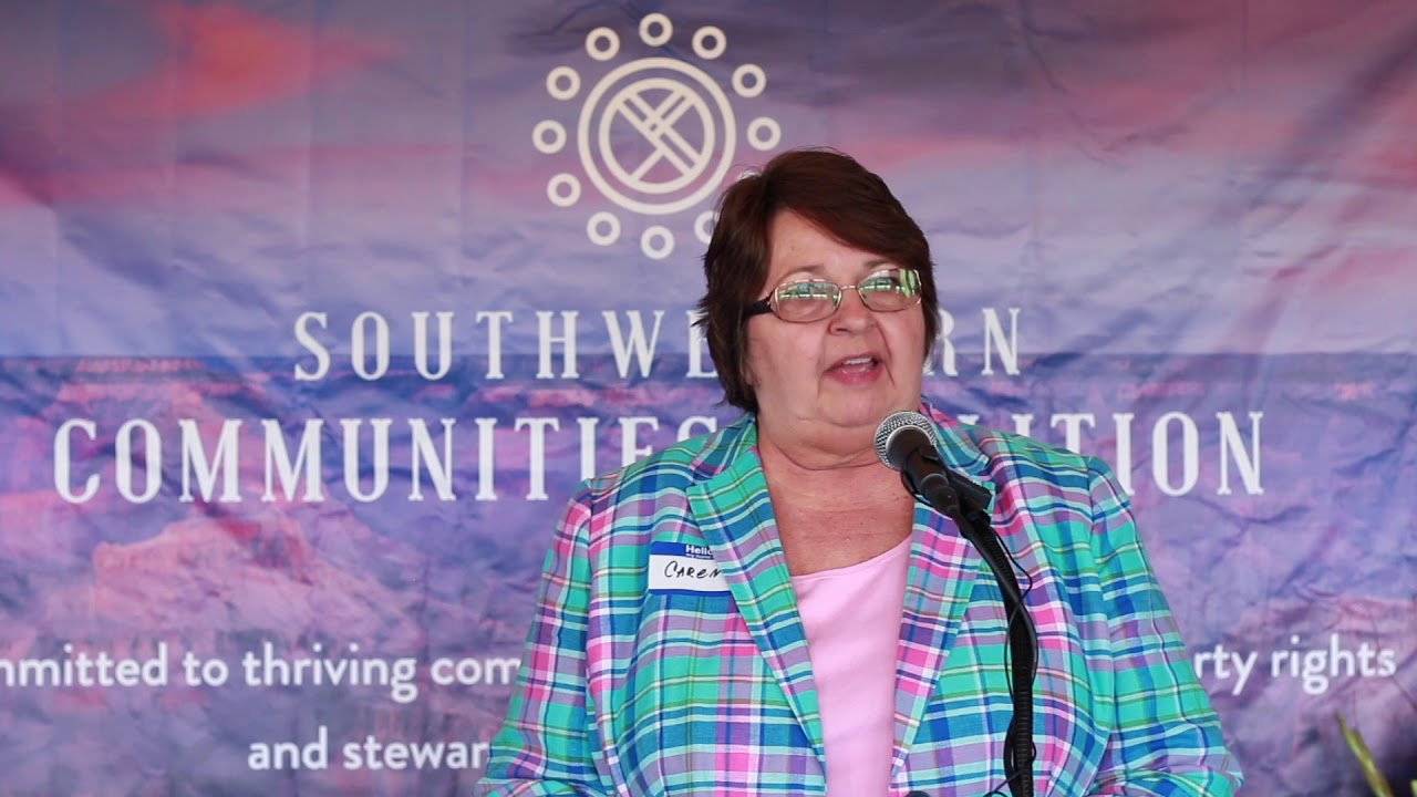 Executive Director New Mexico Cattlegrowers Association Caren Cowen Speaks at SWCC Kickoff Event
