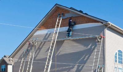 Storm damage property restoration