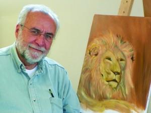 Dave painting  lyon