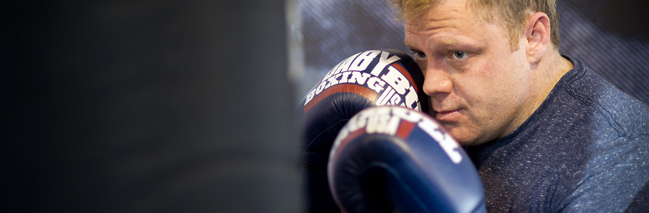 Baby Bull Boxing Student
