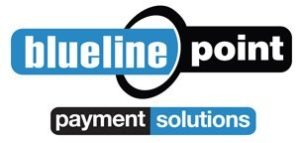 blueline point logo