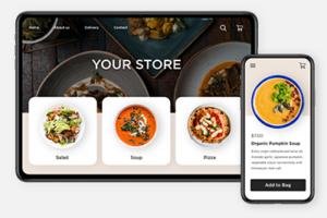 online store restaurant menu
