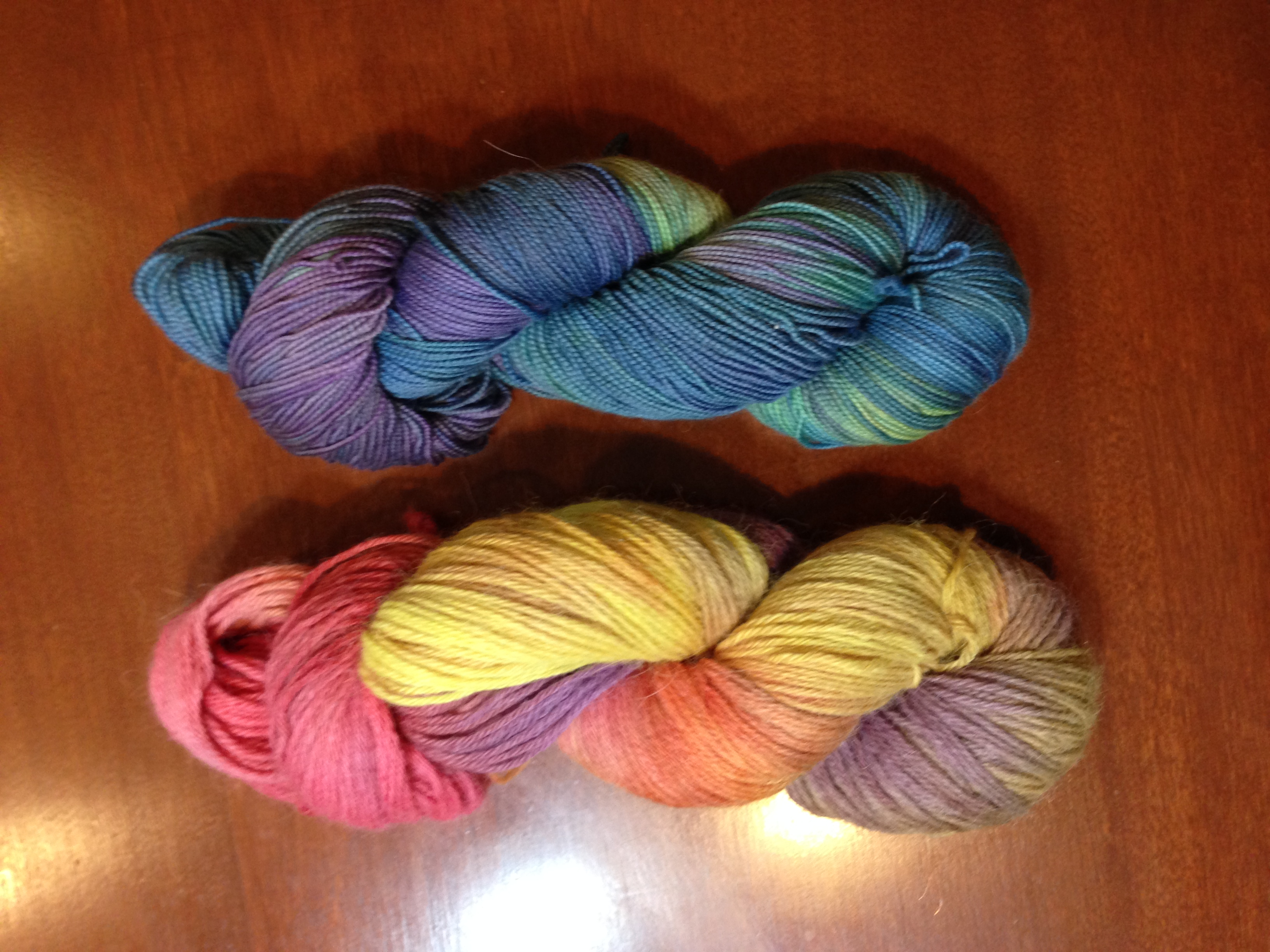 hand-dyed