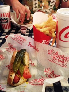 I haven't had a hot dog in many years, but when in Chicago....I must say, this was an extraordinary meal. That dog was loaded!