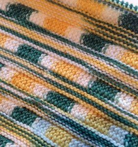 Strandwander, in Holiday Yarn sock