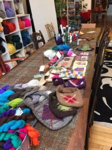Preparing for teach Annetarsia, at StevenBe.  Lovely setting!