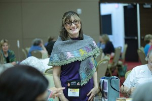 Kelli Nuss took this photo of me at the Teachers Ala Carte event.  It really captures, for me, the joy and spirit of the event.
