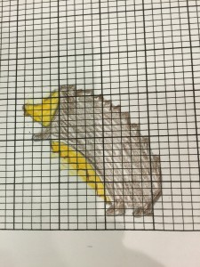 Someone is going to knit an adorable hedgehog, with intarsia!