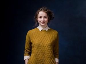 Chainlink sweater, by Norah Gaughan, Brooklyn Tweed Winter 2015