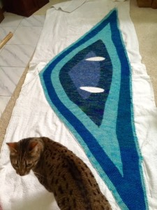 Blocking! And, cat approved.