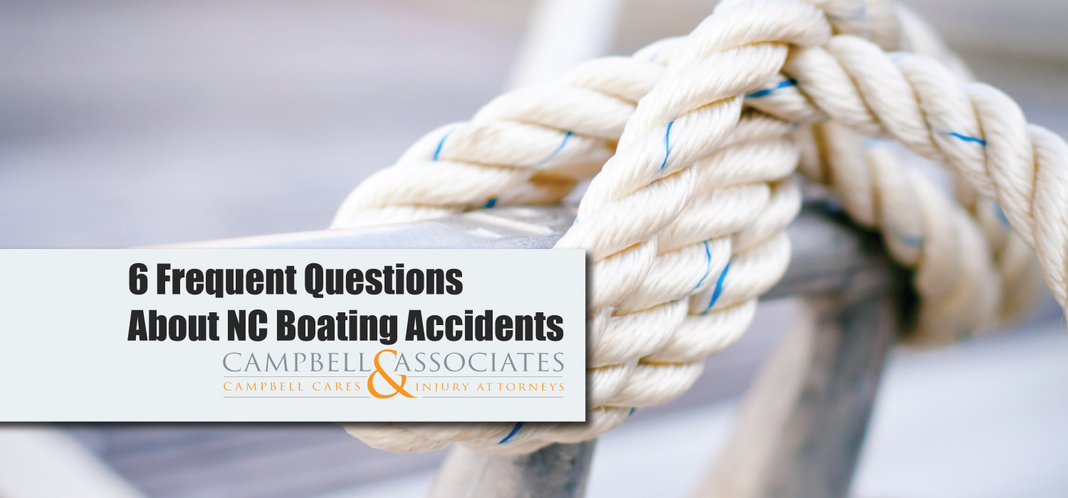 NC Boating Accident Questions