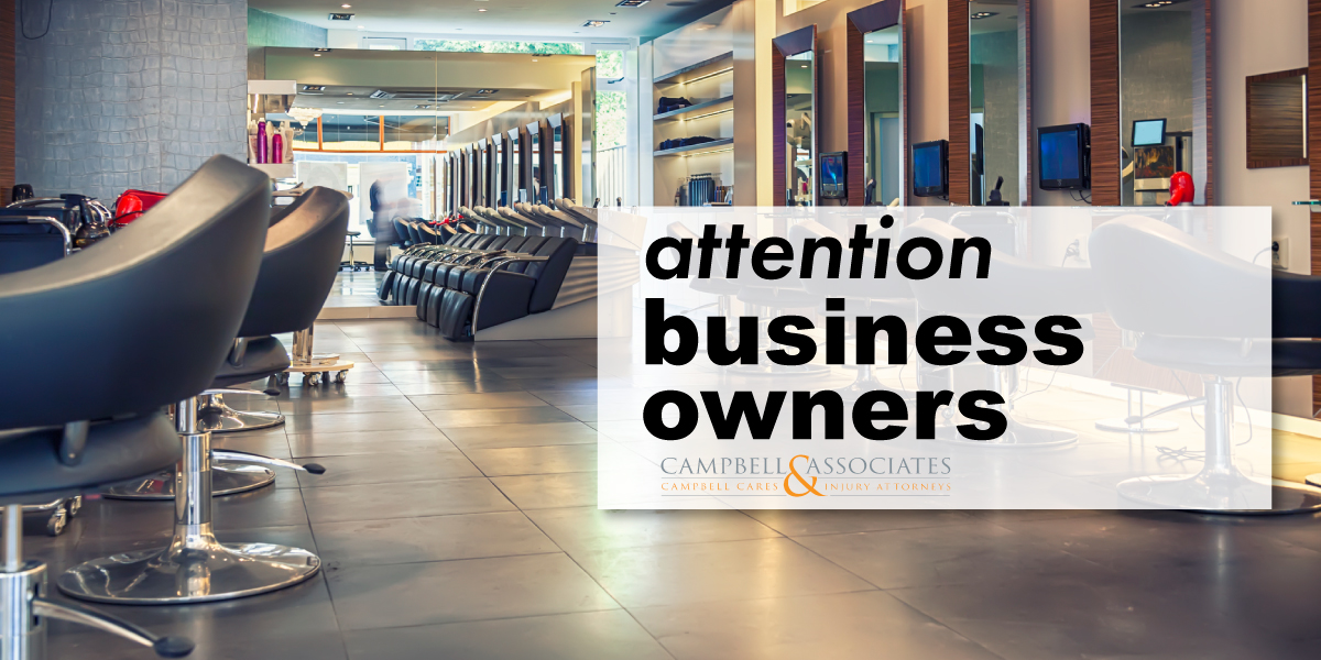 Business Interruption and Legal Aid for Small Business Owners