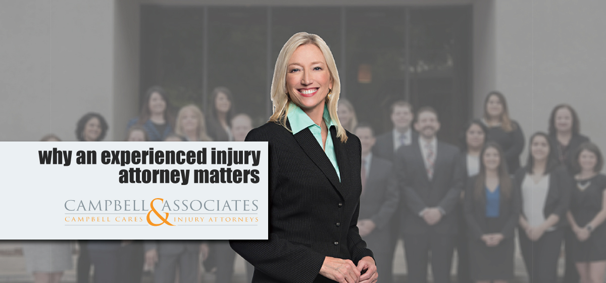 Why An Experienced Injury Attorney Matters