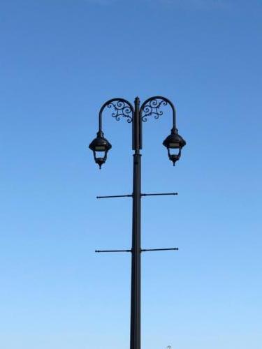 Top of streetlight