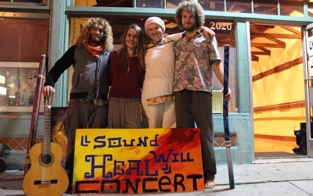 Sound Will Heal Concert