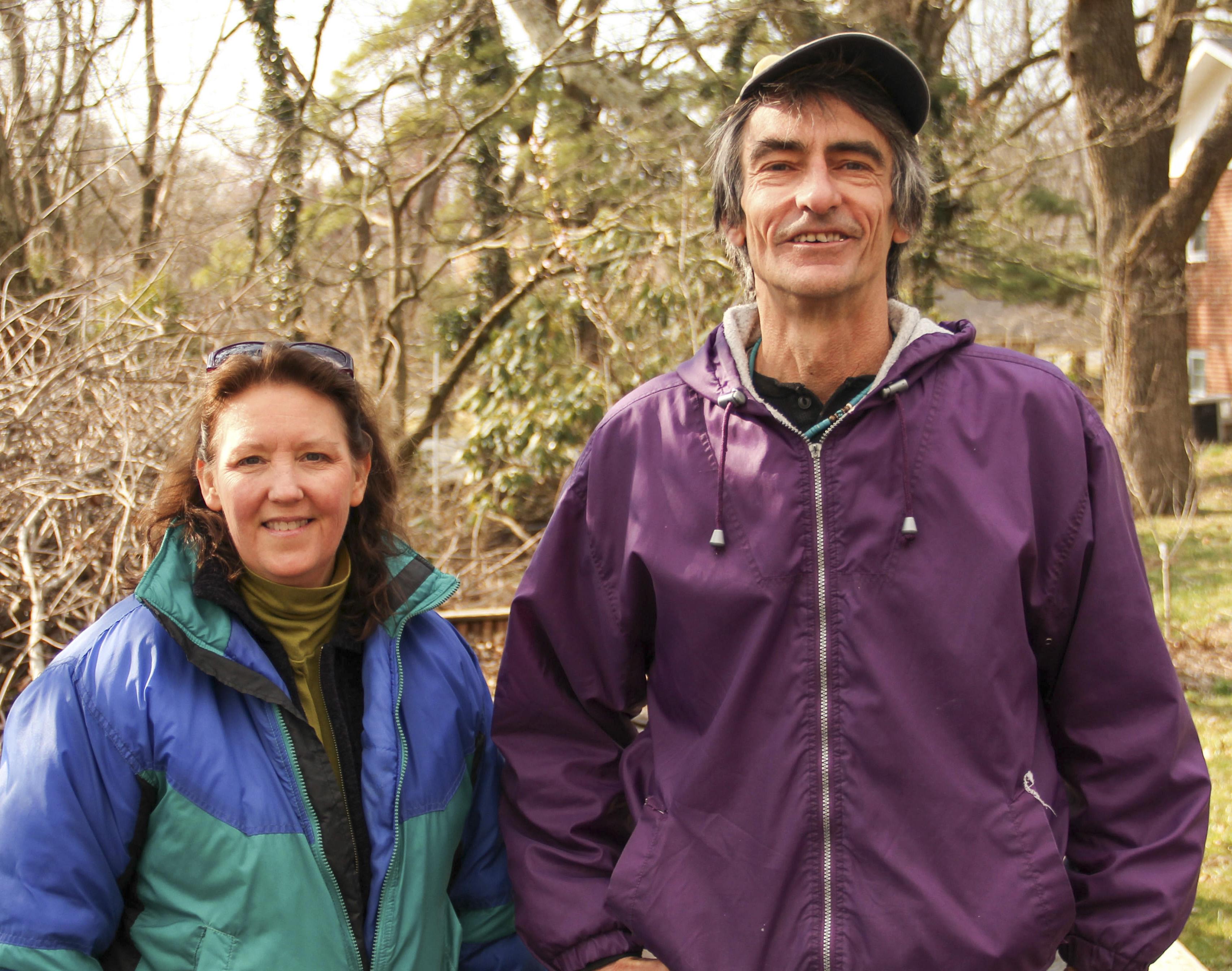 Debby Ward and Russell Furbush