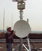 Microwave Antenna Installation