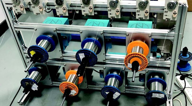 Wire Tensioning Machine