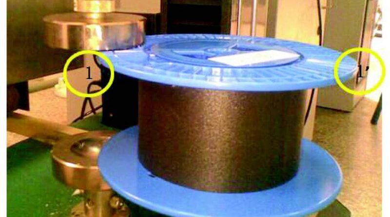 Optical fiber spool
