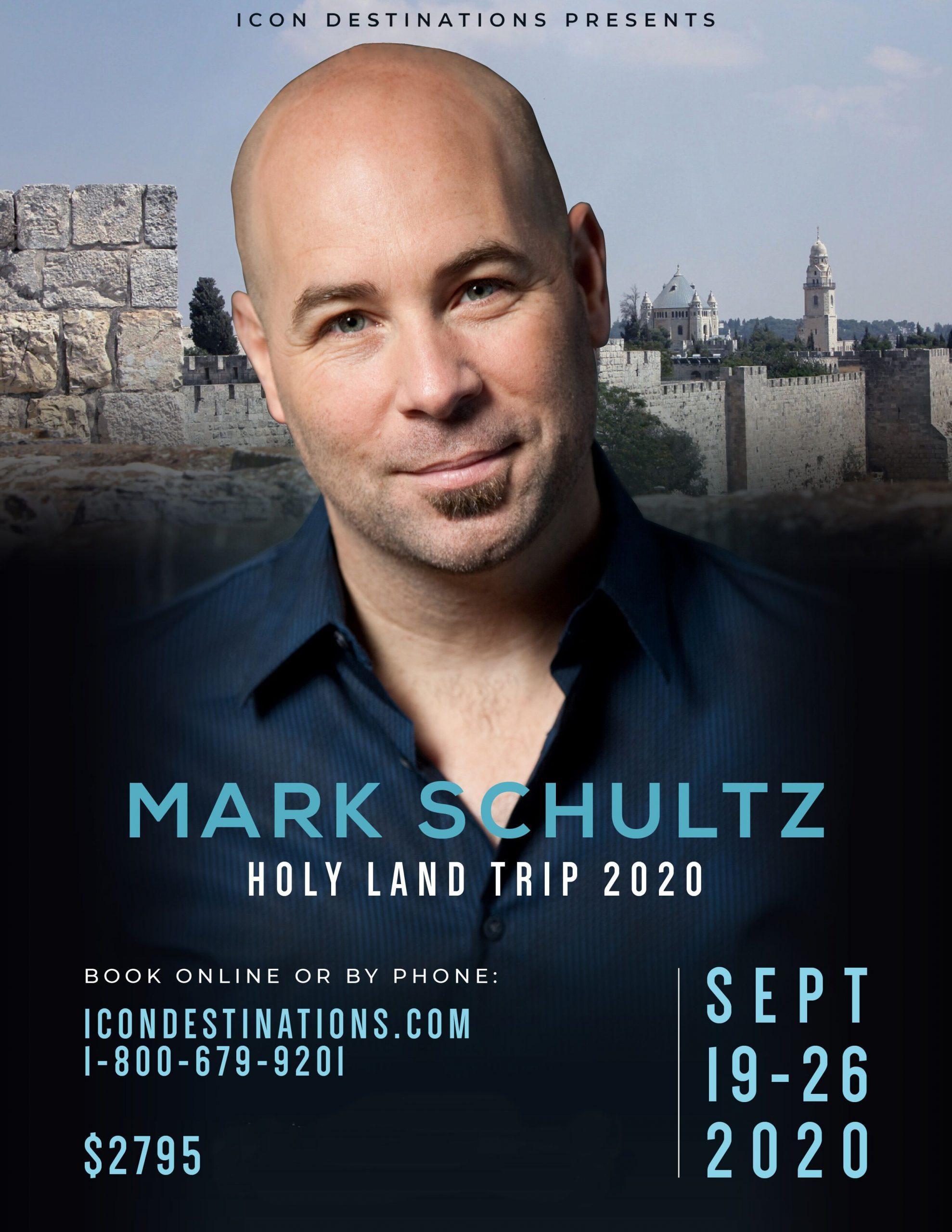 Holy Land Tour   September 19, 2020