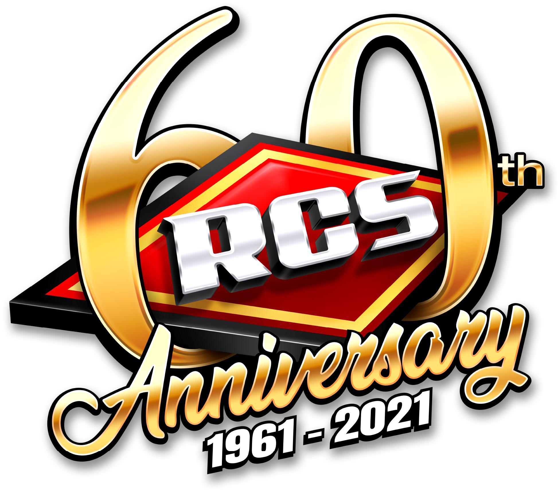 Rcsfun 60th Year Anniversary Logo