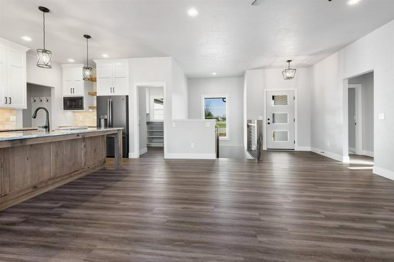 Custom Kitchen in Home Built by Virtue Homes