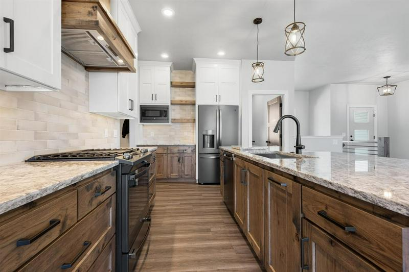 Large Kitchen in a Fox Cities Custom Home