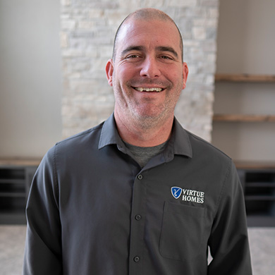 Kyle Mueller, Virtue Homes Project Manager