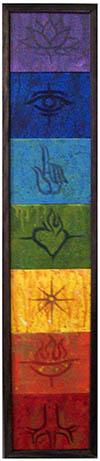Chakra painting by Sam Cobb