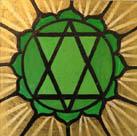 Heart chakra by Jeffrey Lerner