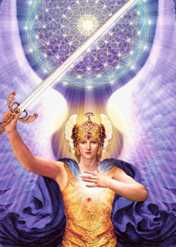 Archangel Michael cord cutting
