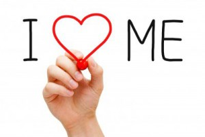 I Love Me sign
