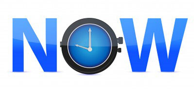 power of now clock