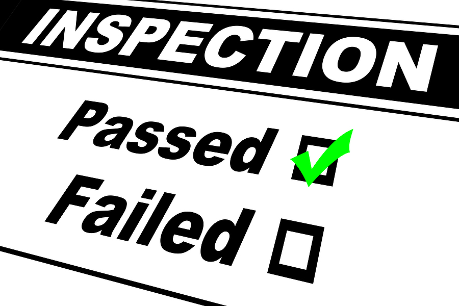 Fire Inspection - Passed