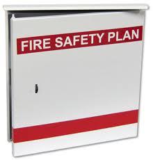 Fire Safety Plan Boxes/Log Books