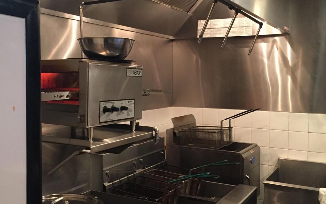 Kitchen Wet Chemical Suppression Install 1