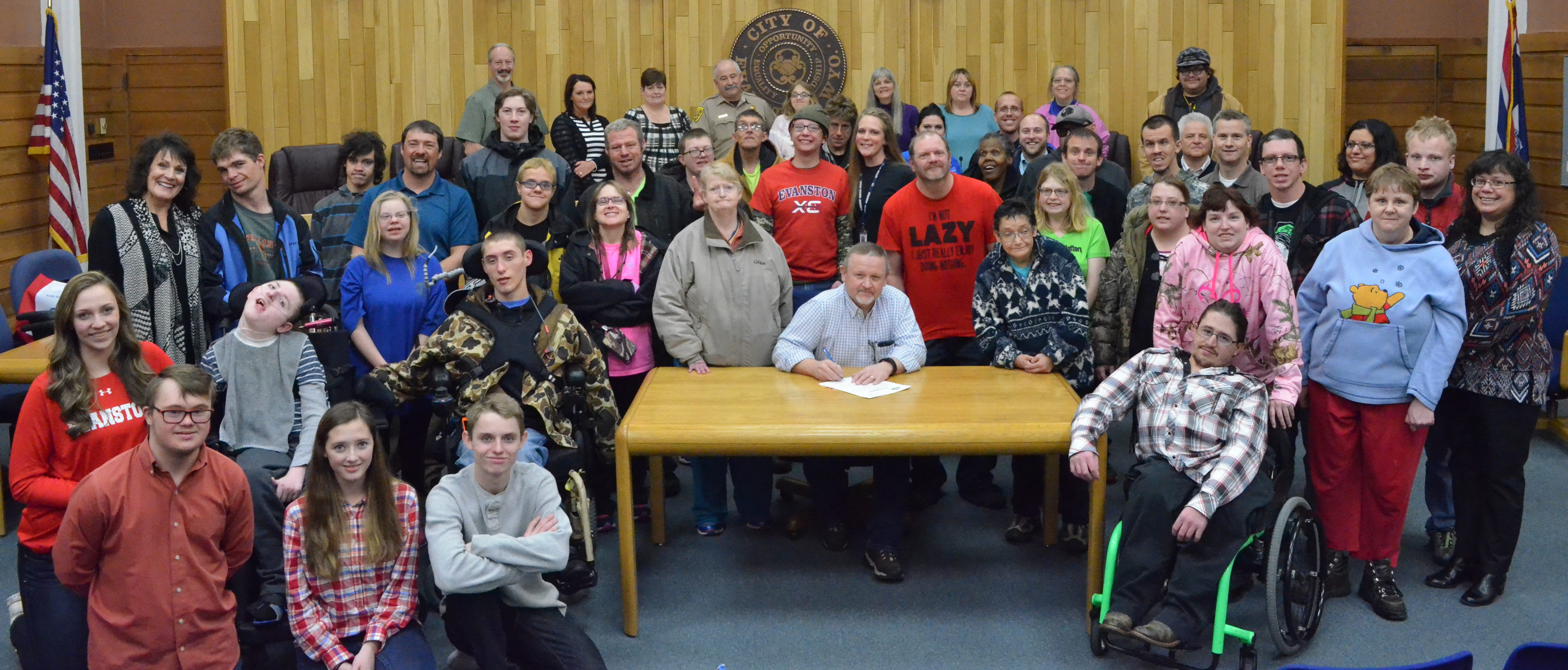 Disability Awareness Month Proclamation Signing